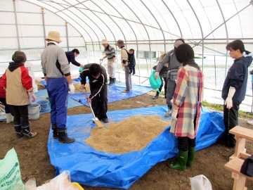 体験農園 3月2,3日4