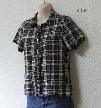 チェックシャツ2