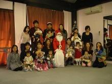 赤ちゃんのほっぺプログ-2009クリスマス3