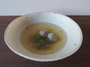 鰯のスープ