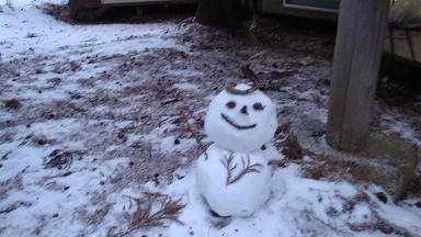 雪だるま女神山