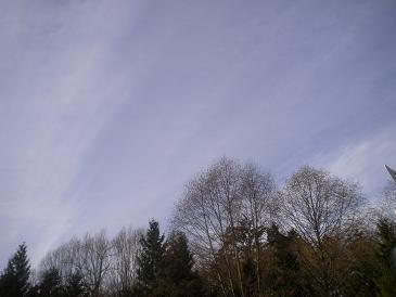 バンクーバーの空