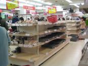スーパーマーケット風景