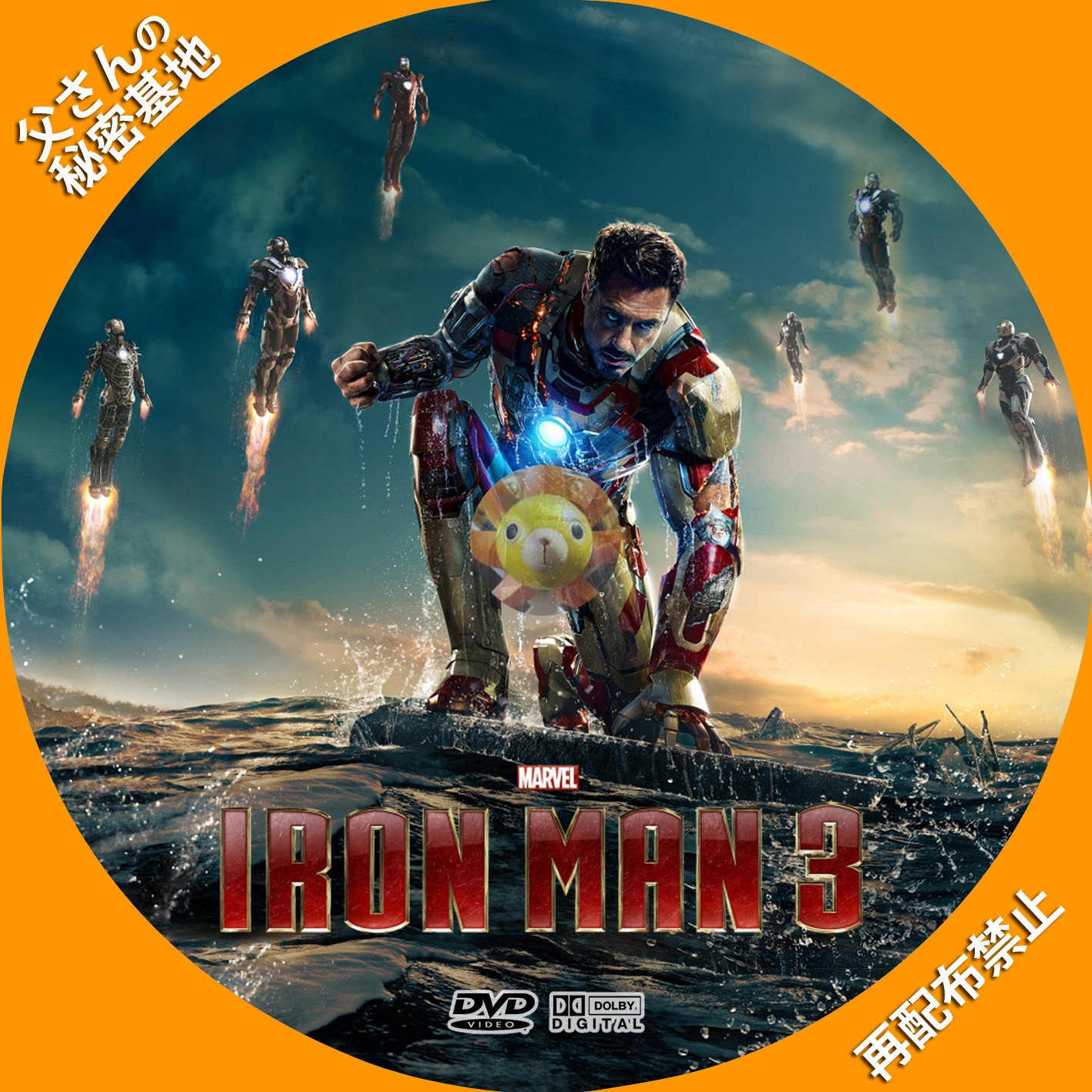 IRON MAN 3 B_DVD