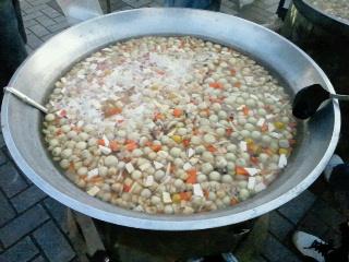 久慈まめぶ汁200食用大鍋