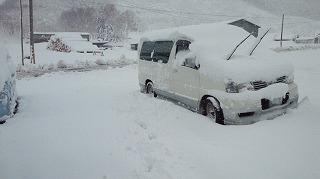 4月20日大雪