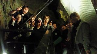 龍泉洞洞窟内