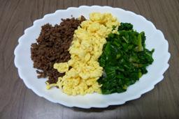 三色ご飯1