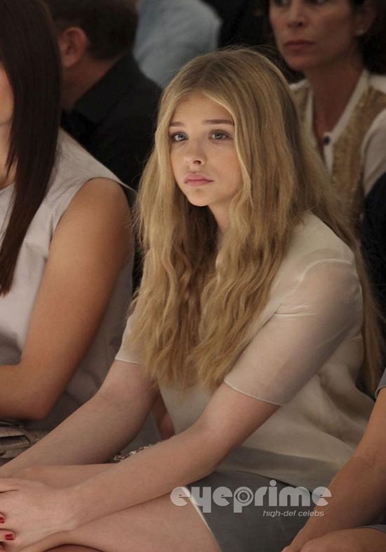 ありえない色っぽさ!! 恐るべし14歳 クロエ・モレッツ @ NYファッションウィーク