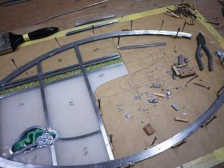 H邸ステンドグラス製作