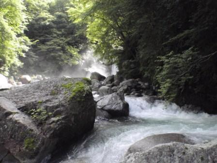 阿木川遡行 12