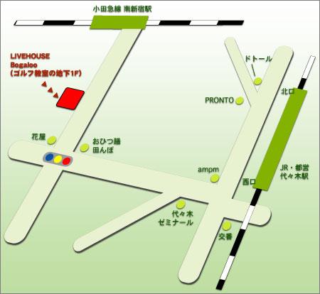 Bogaloo 地図