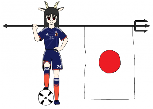 日本代表こはきゅん