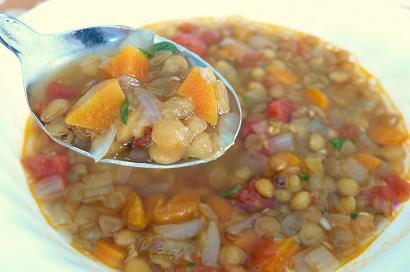 レンズ豆スープ1
