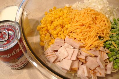 スパゲッティキャセロール1