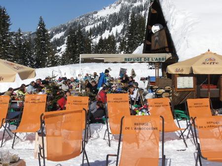 スキーでフランスまで