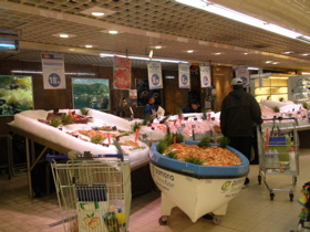Lyon part3 牡蠣とスーパーマーケット