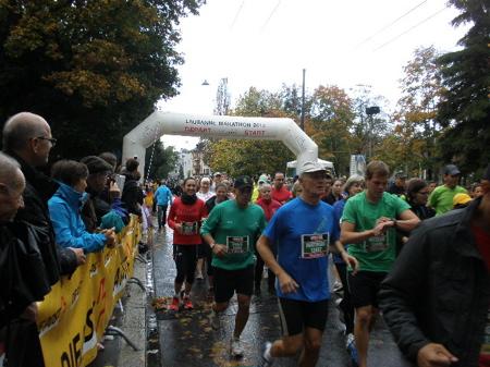 ローザンヌ10キロマラソン完走