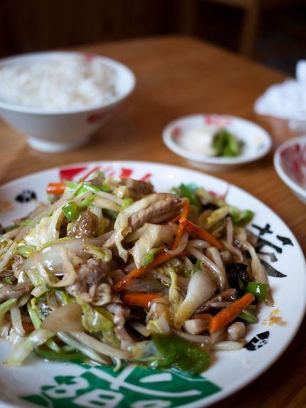ちょっと よりみち 肉と野菜炒め