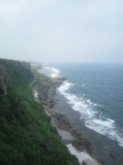 伊江島(湧出)曇り