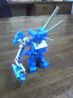 ロボット-青