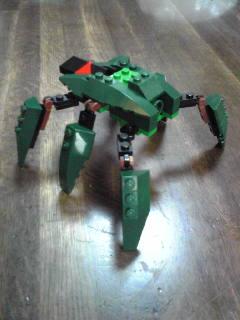 ロボット-緑
