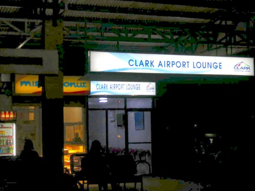 clark airport lounge
