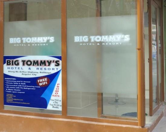 big tommys hotel resort