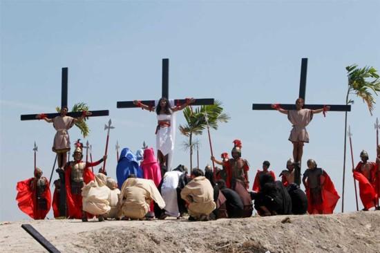 Cutud crucifixion2013