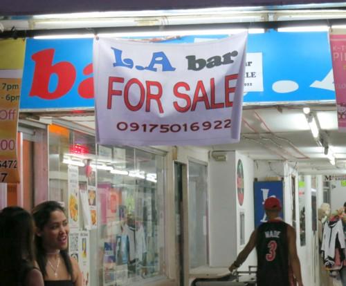la bar for sale