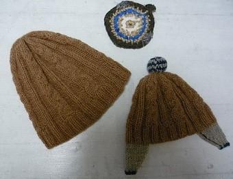 耳つき帽子1