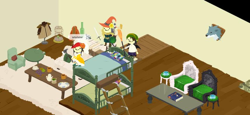 2段ベッド!2