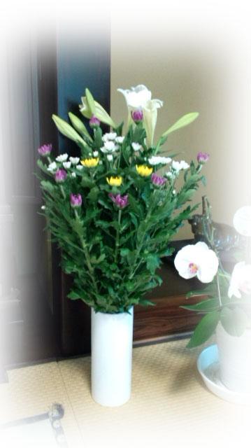 安藤花店の仏花