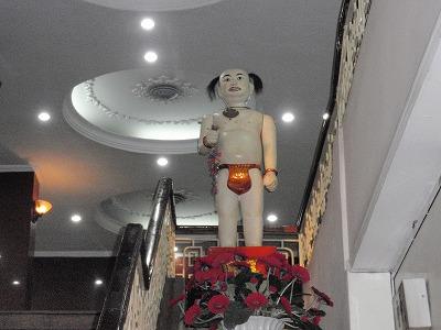 水上人形劇場の人形