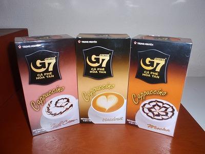 G7コーヒー。こんな感じのパッケージ。