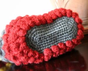 アジロ編みバッグ底