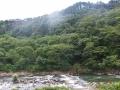 作並街道から見る青葉山