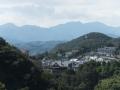 葛岡〜面白山を望む
