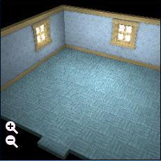 ハウジング_板屋根の煉瓦の家+独特な細かい線模様