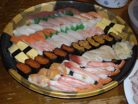 新春、お寿司