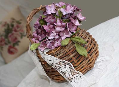 代1作目は紫陽花