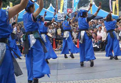 ふくろ祭りの東京よさこい