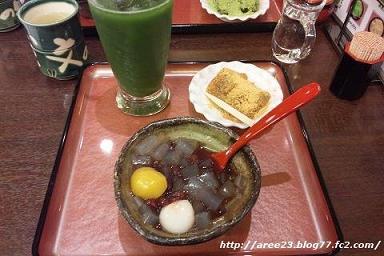 京甘味 文の助茶屋