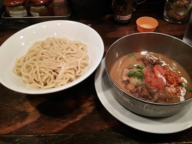 五十五番_牛すじカリーつけ麺02