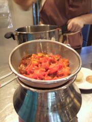 トマトスープと鍋