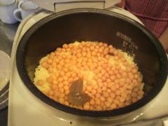 ひよこ豆ライス