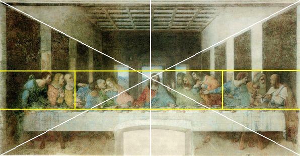 最後の晩餐は、騙し絵ともいわれるほど、壁画と部屋が一体に続いているかのように描かれた