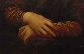 モナリザの手
