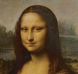 モナリザの顔をよく見てみると・・・