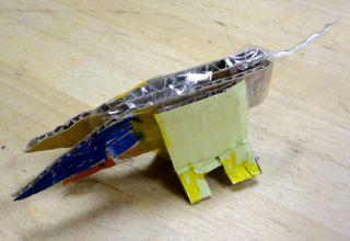 セロテープのしっぽ
